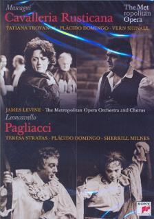 MASCAGNI, LEONCAVALLO - CAVALLERIA RUSTICANA - PAGLIACCI DVD DOMINGO, TROYANOS, MILNES, LEVINE