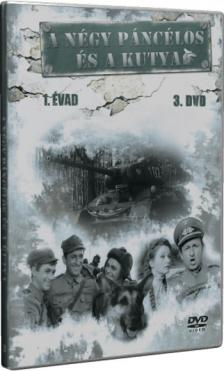 MIRAX BLUEBLACK 1908 KER. ÉS SZOLG. KFT. 2 - A NÉGY PÁNCÉLOS ÉS A KUTYA 1.ÉVAD 3. - DVD -