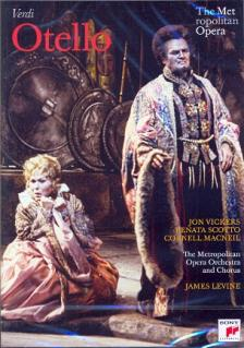 Verdi - OTELLO DVD VICKERS, SCOTTO, MACNEIL, LEVINE