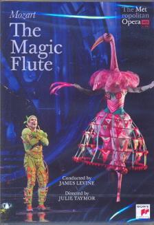 MOZART - THE MAGIC FLUTE DVD POLENZANI, GUNN, MIKLÓSA, YING HUANG, PAPE, AYLMER, LEVINE