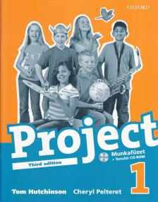 HUTCHINSON - PELTERET - PROJECT 1. WB - THIRD EDITION + CD-ROM