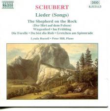 SCHUBERT - LIEDER (SONGS) CD