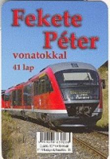- Fekete Péter vonatokkal 41 lap - kártya