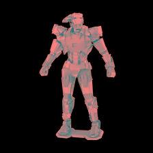 502643 - Metal Earth Marvel Avengers - War Machine