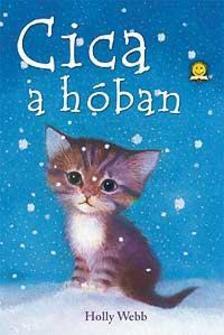 Holly Webb - Cica a hóban - KEMÉNY BORÍTÓS