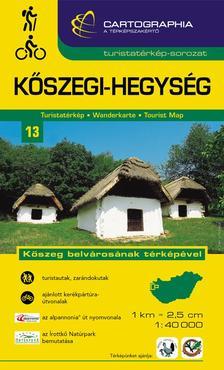 Cartographia Kiadó - KŐSZEGI-HEGYSÉG TURISTATÉRKÉP 13. 1:40000 - CART. -