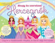 - Hercegnők - Lépj be a tündérmesék világába, és fess ki négy hercegnőt!