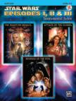 JOHN WILLIAMS - STAR WARS EPISODES I,  II & III. INSTR.SOLOS; ALTO SAX,  LEVEL 2-3,  CD INCL.