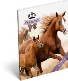 13304 - Notesz papírfedeles A/7 GEO Horse Two 17004107