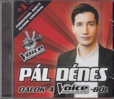 - PÁL DÉNES CD - DALOK A THE VOICE-BÓL -