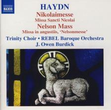 Haydn - NIKOLAIMESSE - NELSON MASS CD J.OWEN BURDICK