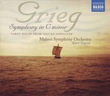 GRIEG - SYMPHONY IN C MINOR,SIGURD JORSALFAR,CD
