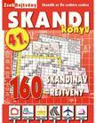 CSOSCH KIADÓ - ZsebRejtvény SKANDI Könyv 41. ###<!--span style='font-size:10px;'>(G)</span-->