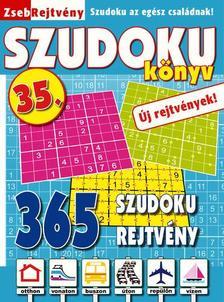 CSOSCH KIADÓ - ZsebRejtvény SZUDOKU Könyv 35.