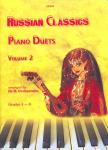 - RUSSIAN CLASSICS FOR PIANO DUETS VOLUME 2 ARRANGED BY DR H. OVCHARENKO,  GRADES 4 - 6