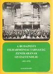 Breuer János - A Budapesti Filharmóniai Társaság zenekarának 125 esztendeje (1853-1978) [antikvár]