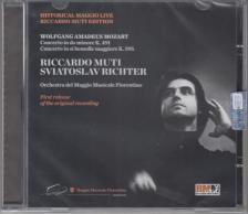 MOZART - PIANO CONCERTOS K.491, K.595 SVIATOSLAV RICHTER