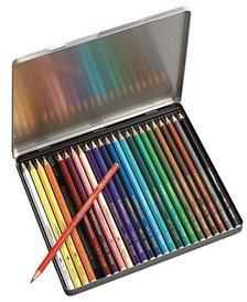 1624-5 - STABILO aquacolor színesceruza 24 db-os, exkluzív fém díszdobozban