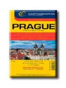 Cartographia - PRÁGA VÁROSTÉRKÉP - CART. - 1:17.000 -