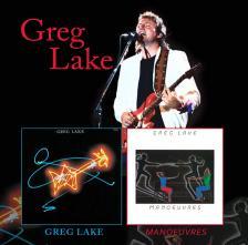 - GREG LAKE / MANOEUVRES - GREG LAKE 2CD