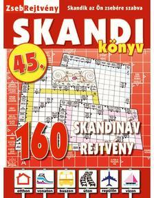 CSOSCH KIADÓ - ZsebRejtvény SKANDI Könyv 45.