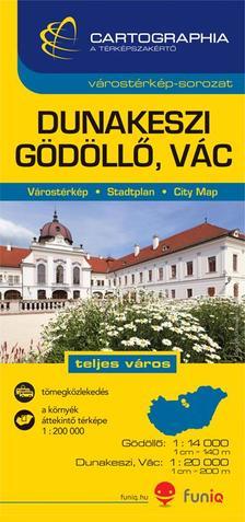 Cartographia - Dunakeszi, Gödöllő, Vác várostérkép