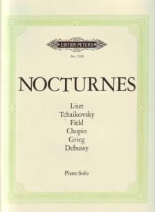 NOCTURNES, A SELECTION OF WORKS FROM FIELD TO DEBUSSY FOR PIANO