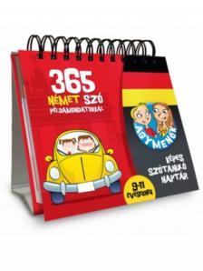 . - Agymenők 365 német szó példamondatokkal 9-11 éveseknek