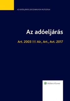 DR. KOVÁCS FERENC - Az adóeljárás [eKönyv: epub, mobi]
