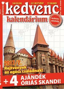 CSOSCH KIADÓ - Kedvenc Kalendárium 2017/2.