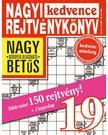 CSOSCH KIADÓ - Nagyi Kedvence Rejtvénykönyv 19.