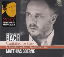 Bach - CANTATAS FOR BASS CD MATHIAS GOERNE