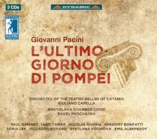 PACINI GIOVANNI - L'ULTIMO GIORNO DI POMPEI 2CD CARELLA, GIMENEZ, TAMAR