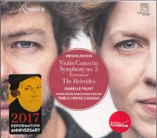 MENDELSSOHN - VIOLIN CONCERTO - SYMPHONY NO.5 'REFORMATION' CD ISABELLE FAUST