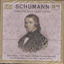 SCHUMANN - COMPLETE SOLO PIANO MUSIC 13CD WÜRTZ, FRANKL, SCHMITT-LEONARDY, BRAUTIGAM