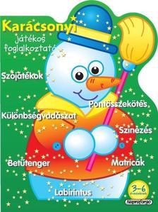 Napraforgó Könyvkiadó - Karácsonyi játékos foglalkoztató - Zöld