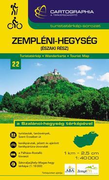 Cartographia Kiadó - ZEMPLÉNI-HEGYSÉG (ÉSZAKI RÉSZ) TURISTATÉRKÉP 1:40000 -