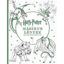 . - Harry Potter - Mágikus lények - színezőkönyv