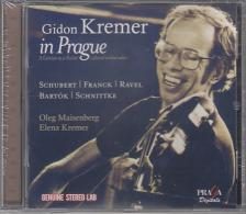 SCHUBERT, FRANCK, RAVEL, BARTÓK - GIDON KREMER IN PRAGUE CD