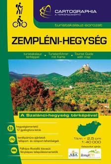 """Cartographia Kiadó - ZEMPLÉNI-HEGYSÉG TURISTAKALAUZ 1:40000 """"SC"""""""