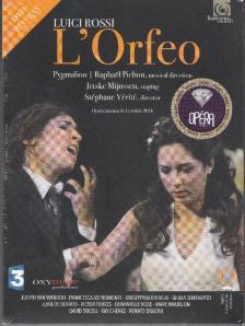 ROSSI LUIGI - L'ORFEO DVD+BLU-RAY RAPHAEL PICHON