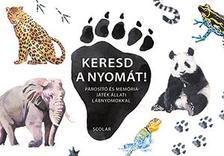 Inca Starzinsky - Keresd a nyomát! - Párosító és memóriajáték állati lábnyomokkal