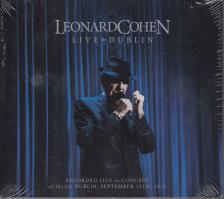 - LIVE IN DUBLIN 3CD LEONARD COHEN