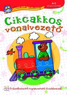 Anna Podgórska - Óvodások akadémiája. Cikcakkos vonalvezető 5-6 éveseknek