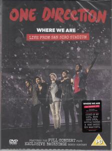 - WHERE WE ARE DVD ONE DIRECTION