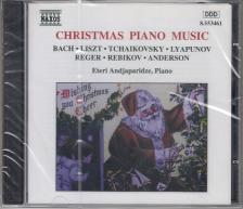 BACH; LISZT; TCHAIKOVSKY - CHRISTMAS PIANO MUSIC CD ETERI ANDJAPARIDZE