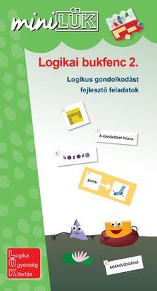 LDI539 - LOGIKAI BUKFENC - LOGIKAI GONDOLKODÁST FEJLESZTŐ FELADATOK. 3-4. OSZTÁLYLOGIKAI BUKFENC 2. - LOGIKAI GONDOLKODÁST FEJLESZTŐ FELADATOK. 3-4. OSZTÁLY