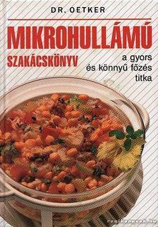 Mikrohullámú szakácskönyv [antikvár]