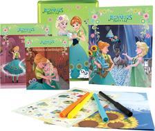 - - Disney - Jégvarázs - Party láz (fémdoboz: foglalkozató, színező, mesekönyv)