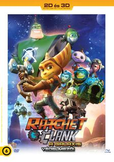 Kevin Munroe, Jericca Cleland - Ratchet & Clank - A Galaxis védelmezői 2D+3D DVD